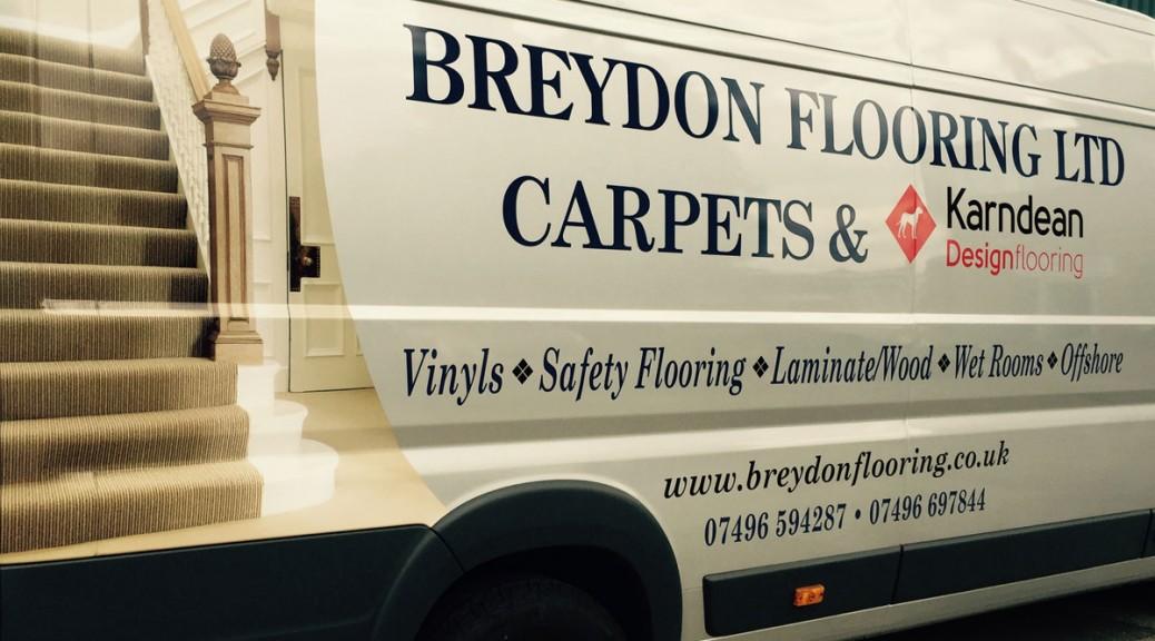 Breydon Flooring & Carpets Van